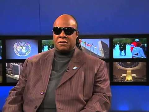 Stevie Wonder, United Nations Messenger of Peace (UNTV interview)