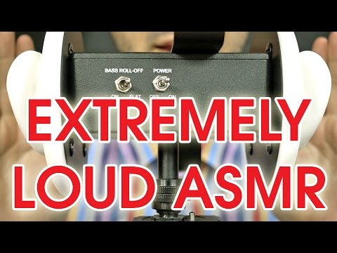 100% Extremely Loud ASMR Session ☢☢☢