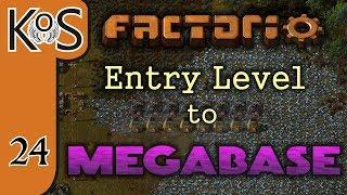 Factorio: Entry Level to Megabase Ep 24: BLUE SCIENCE RATIOS & OIL CRACKING - Tutorial Series