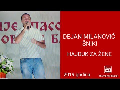 DEJAN MILANOVIĆ ŠNIKI-HAJDUK ZA ŽENE-(2019)