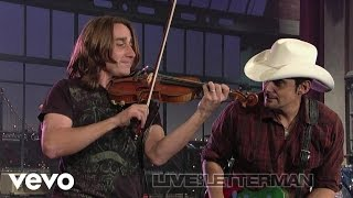 Watch Brad Paisley Time Warp video