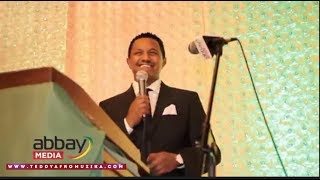 Teddy Afro - Honoring Gala Dinner Event (June 24, 2017)