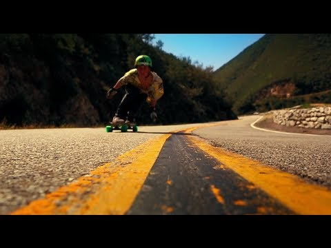 Long Boarding-Wyatt Gibbs 16 Year Old Prodigy!