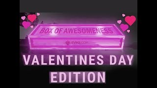 """2018 Evike """"Happy Valentines Day"""" Box of Awesomeness unboxing"""