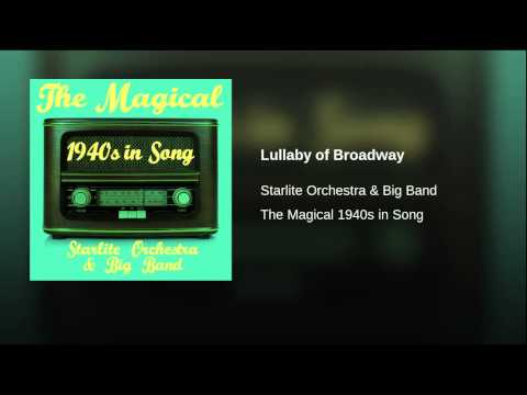 media lullaby of broadway 42nd street instrumental
