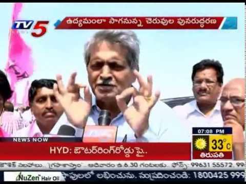 KCR Mission Kakatiya | TV5 Ground Report on Mission Kakatiya : TV5 News