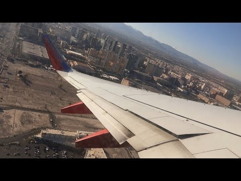 Southwest Airlines B737-7H4 KLAS Departure