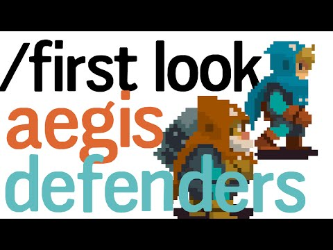 Aegis Defenders | First Look at this Tower Defense Platformer