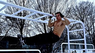 Winter Calisthenics Street Workout Motivation! NO EXCUSES! - Calisthenics Unity
