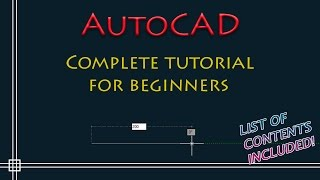 AutoCAD - Complete Tutorial for Beginners - Part 1