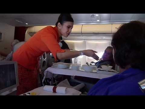 Garuda Executive Class - Garuda Business Class - Amsterdam to Jakarta GA089