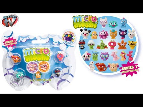 Moshi Monsters Micro Moshi Series 1. 7 Pack Review