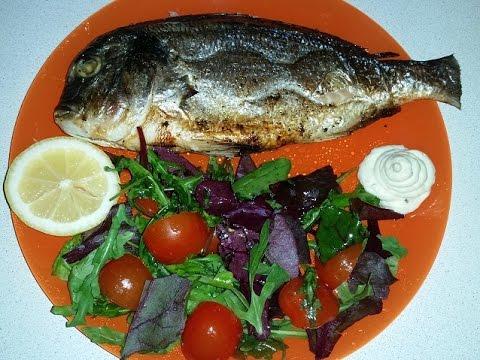 Рыба Дорадо запечённая в аэрогриле Redmond RAG - 240###Fish Dorado baked in aerogrill Redmond RAG