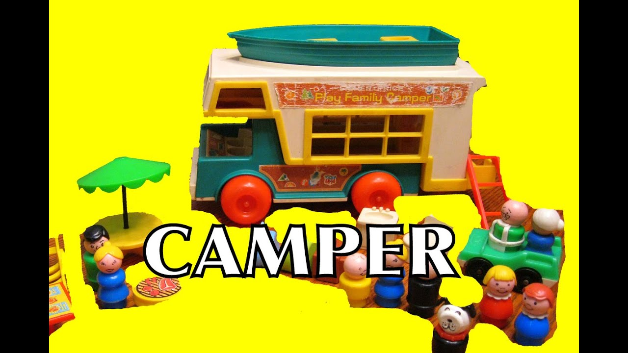 Popular Toys In 1973 : Fisher price family camper little people toy toys