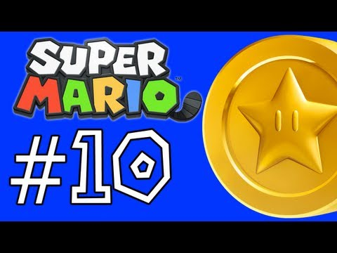 Super Mario 3D Land Walkthrough: Star Coins - World 2-1. 2-2. 2-3. 2-4. and The Airship (Part 10)