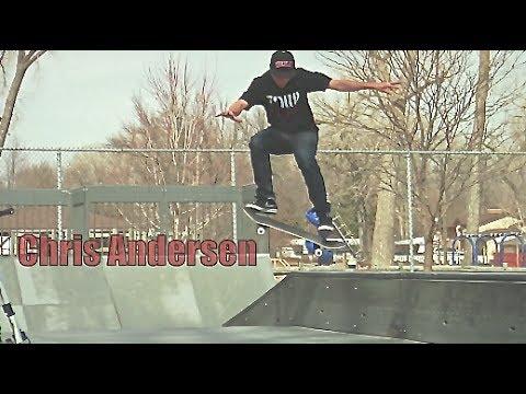 Chris Andersen Tre Flip Noseslide