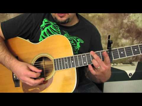 Beatles - Here Comes the Sun - Acoustic Guitar Lessons - George...