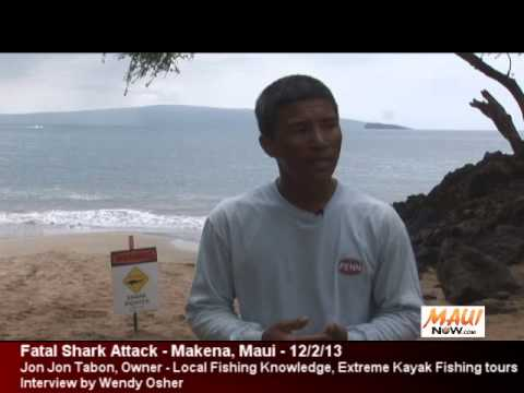 Fatal Shark Attack - Makena, Maui - Interview with Extreme Kayak Fishing tour operator
