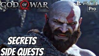 GOD OF WAR 4 - Side Quests & Secret Locations Walkthrough (PS4 PRO)
