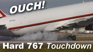 Hardest Boeing 767 Landing EVER!