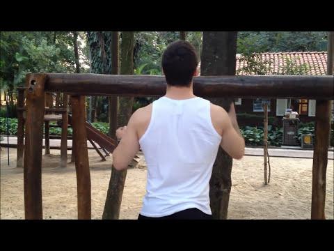 Treino em Casa:Barra Fixa: Como Fazer, Iniciantes, Progressão - Personal Trainer Ricardo Wesley