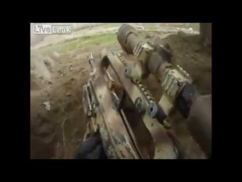 Intense firefight French Chasseurs Alpins vs Talibans