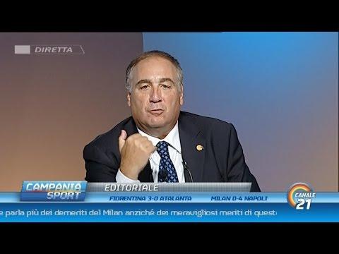 """Chiariello post Milan-Napoli: """"SCUDETTO LIBERO! Napoli iscritto alla lotta scudetto!"""" - CS 04/10/15"""