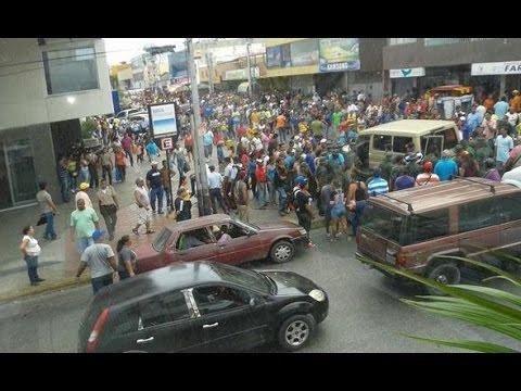 2016/06/15 Sobre protestas, saqueos, arrestos en Venezuela