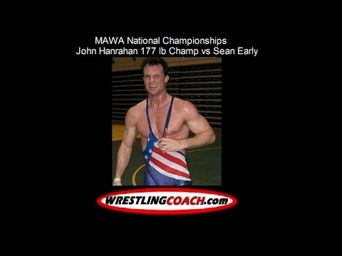 John Hanrahan deafeats Sean Early MAWA Open Folkstyle National Wrestling Championship Image 1