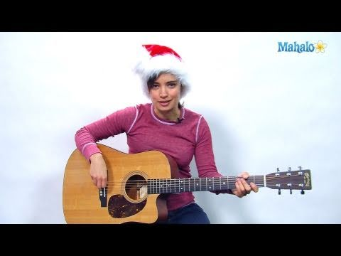 How to Play Rudolph the Red-Nosed Reindeer on Guitar