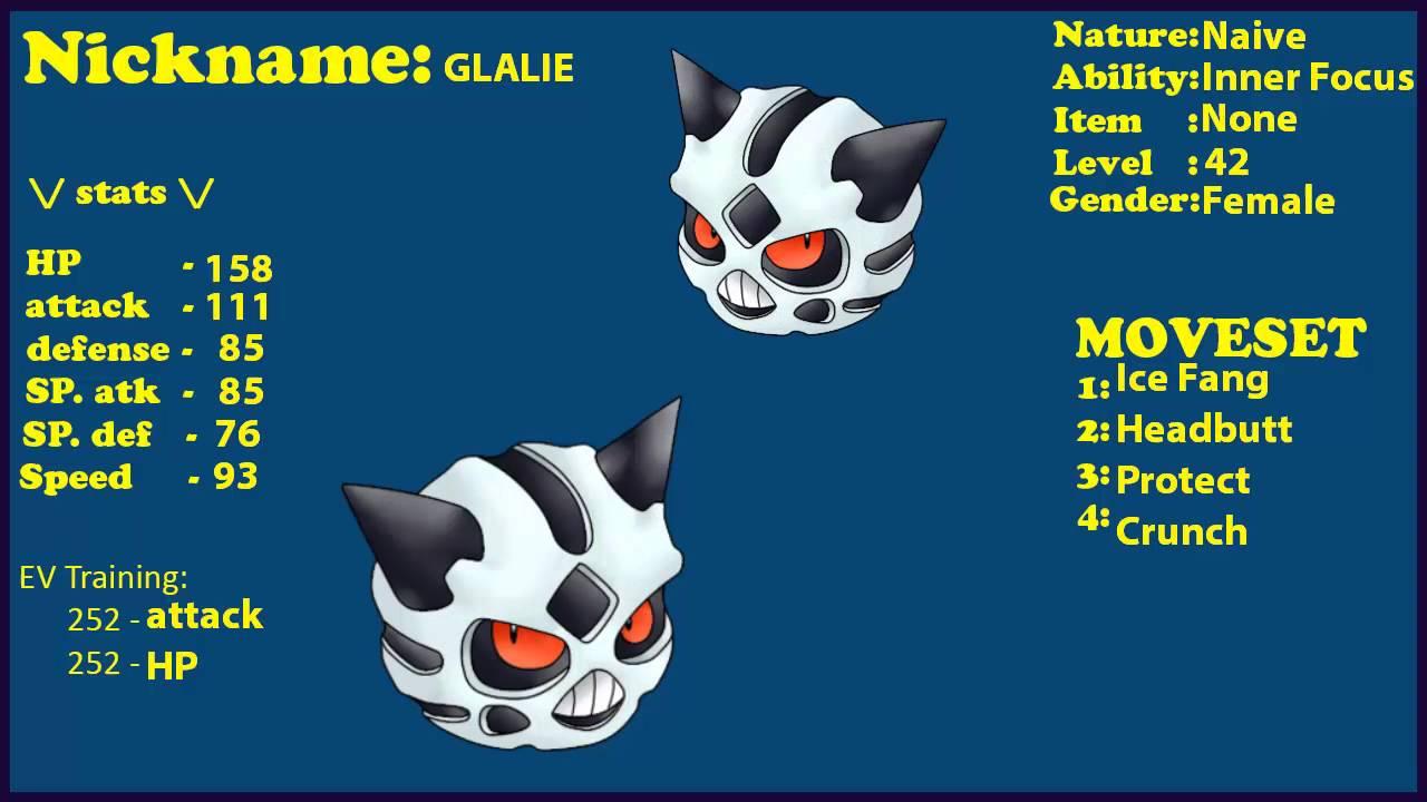 Shiny glalie