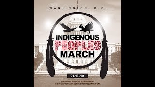 DC Police officer steals ceremonial sage at the Indigenous People's March Jan 18, 2019