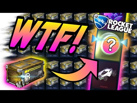 WEIRDEST WHEELS EVER! - BEST NITRO Rocket League Crate Opening (Search for Bubbly/Spectre, Draco)