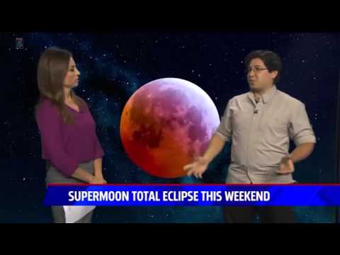 San Diego 5 News - Super Harvest Blood Moon Interview - StarDude Astronomy