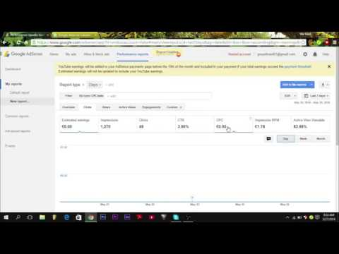 How to easily calculate adsense earnings