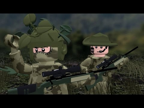 LEGO MODERN WARFARE - All Ghillied Up