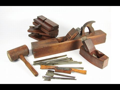 Restoring Old Woodworking Tools | Wranglerstar video