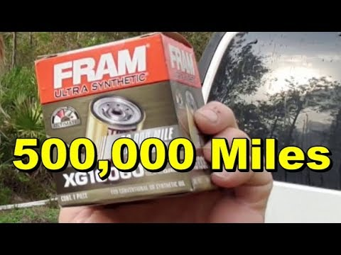FRAM OIL FILTER, How Good Are They? How To Do It Yourself