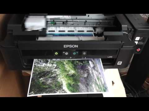 EPSON L210 photo printing  A4