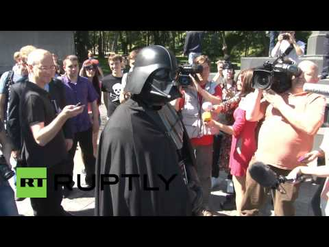 Ukraine: Darth Vader ready to conquer Kiev with