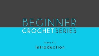 How to Crochet: Beginner Crochet Series Introduction