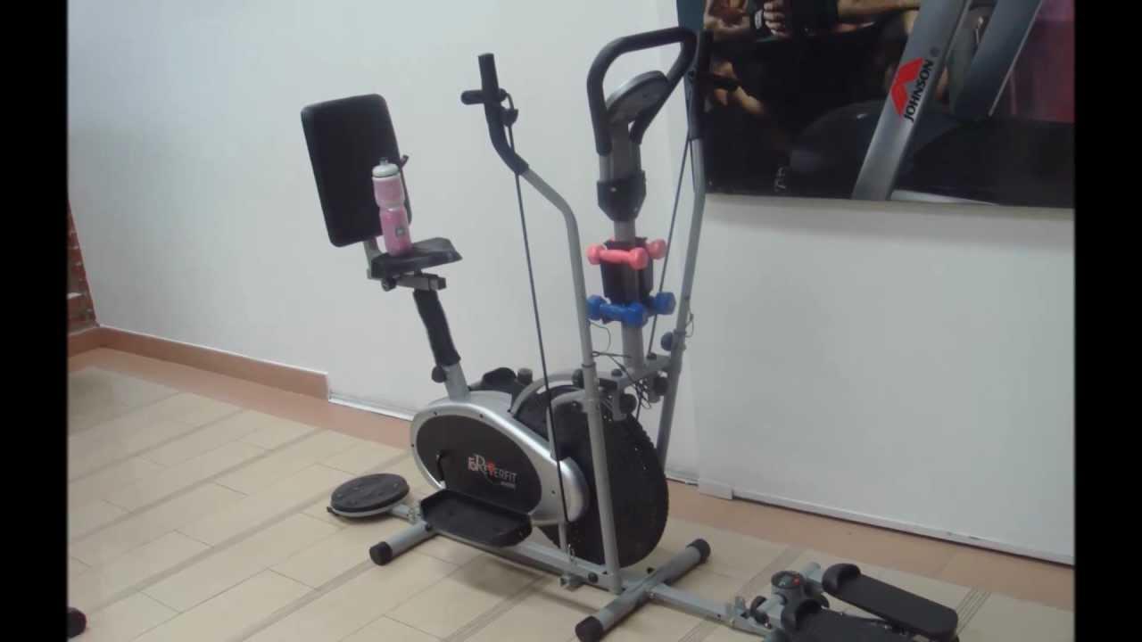Eliptica mecanica gran combo d 0108 con radio modelo 2013 youtube - Beneficios de la bici eliptica ...