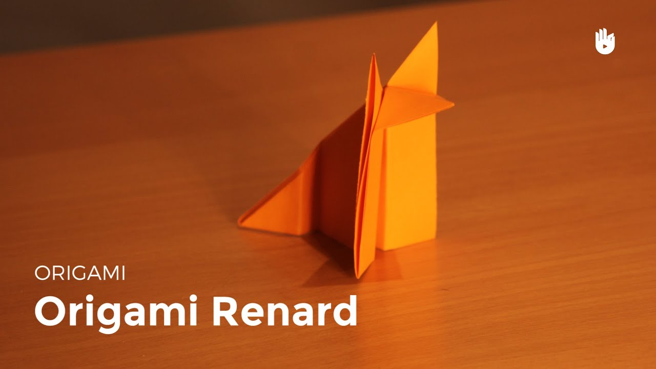 origami renard en papier facile hd youtube. Black Bedroom Furniture Sets. Home Design Ideas