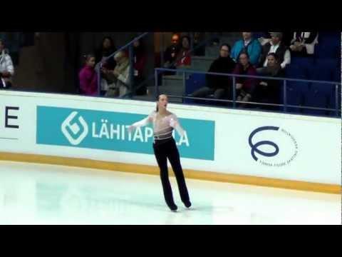 Finlandia Trophy 2012 Johnny WEIR FP +kiss&cry