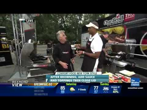 Char-Broil at the Big Apple BBQ Block Party with The Weather Channel - 10:40am - June 9, 2012