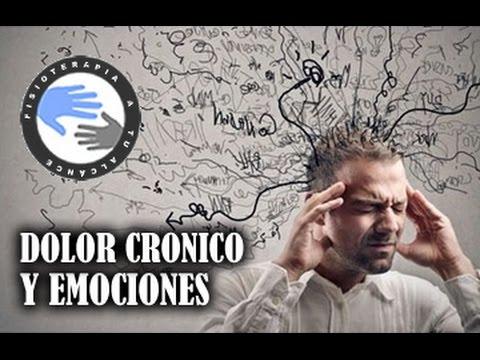 Dolor cronico y emociones, como la depresion y el estres afectan al dolor