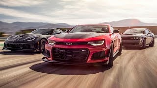 Corvette ZR1 vs Camaro ZL1 vs Dodge Demon | Top Gear