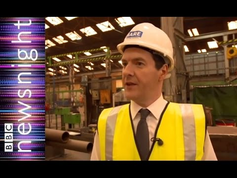 George Osborne on the election campaign - Newsnight
