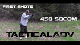 458 SOCOM on steel, First Shots through Project Razorback