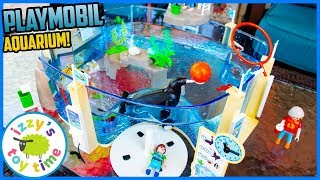 Playmobil AQUARIUM! Fun Toys for Kids!